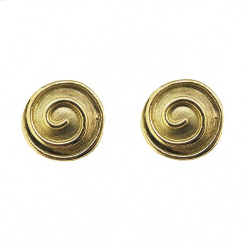 9 ct Swirl Earrings